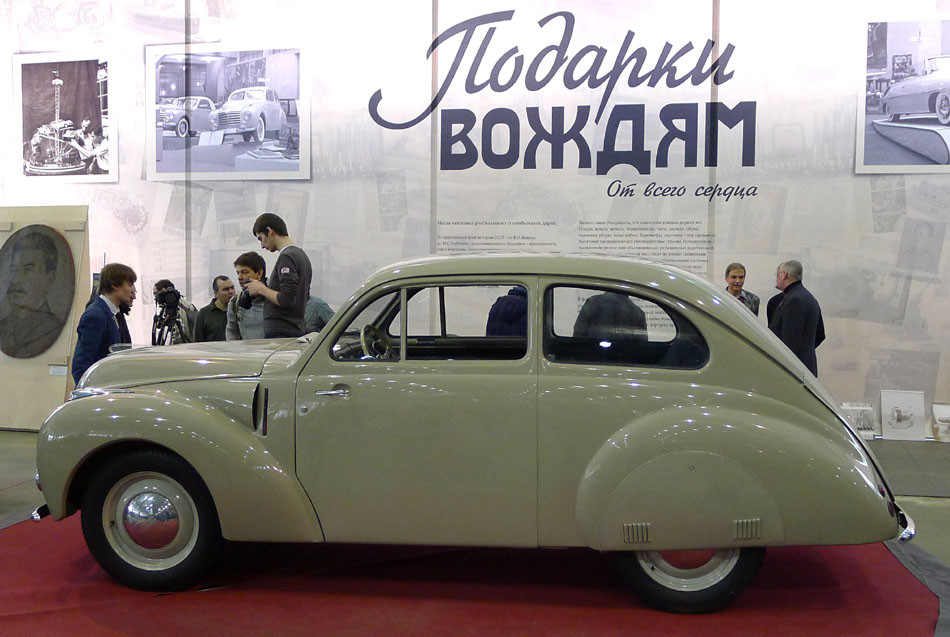 Автомобиль минор сталина попал на реставрацию