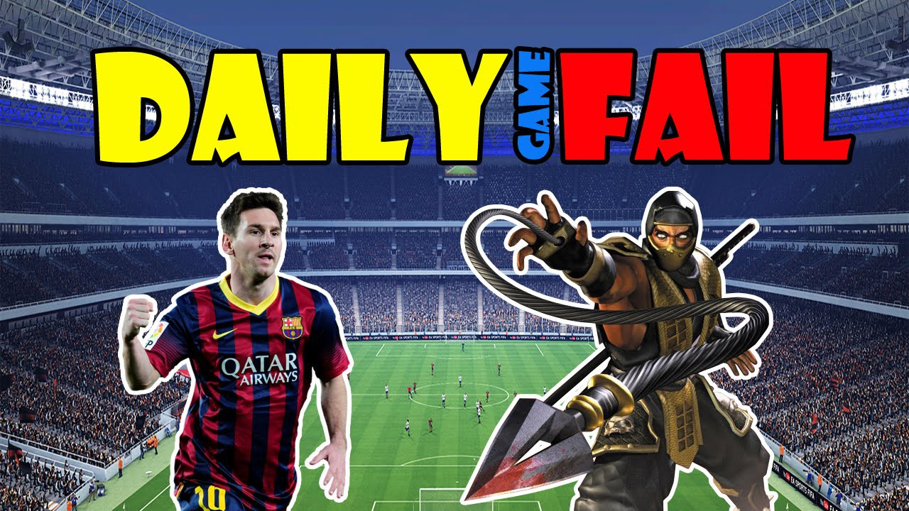 FIFA or Mortal Kombat / ФИФА или Мортал Комбат - Daily Game Fail