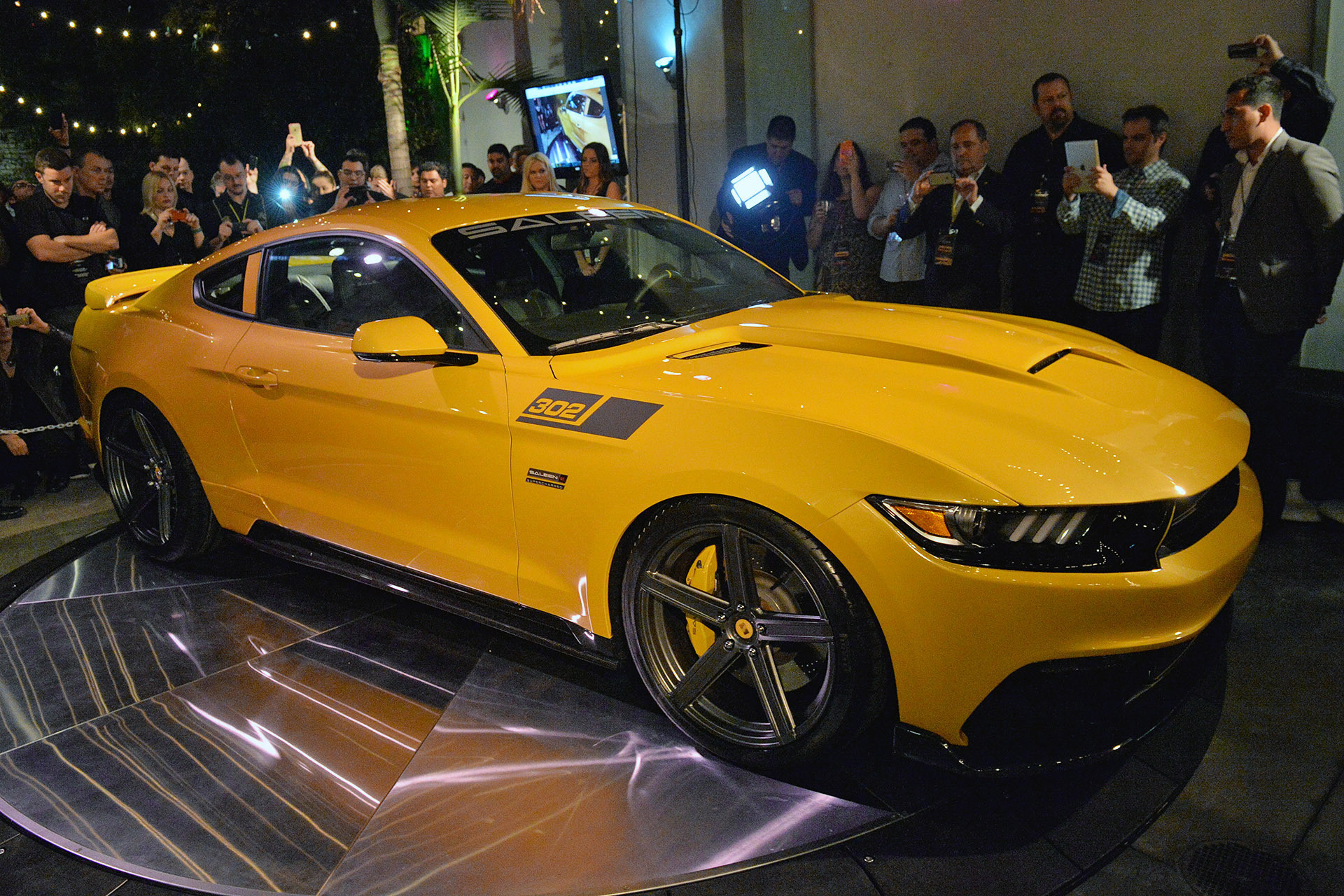 Saleen представил Mustang 302 Black Label