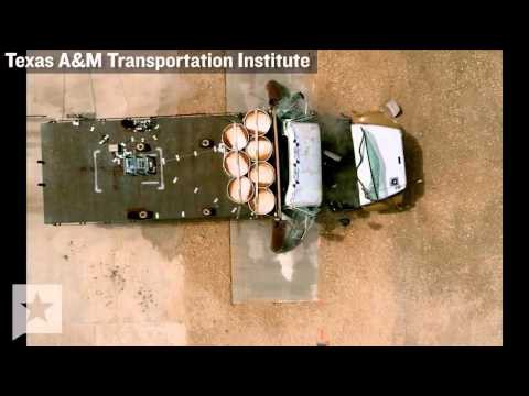 Video Texas A&M Transportation Institute Crash Video