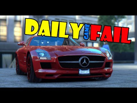 Be careful on the road / Будь внимателен на дороге - Daily Game Fail
