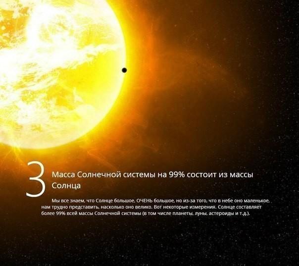 такого широкого интересные факты о нашей солнечной системе вести