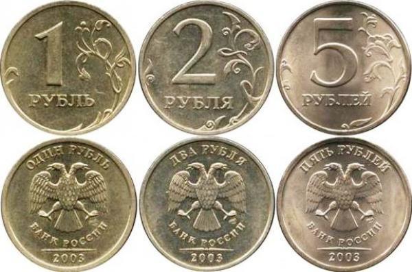 годовики монеты