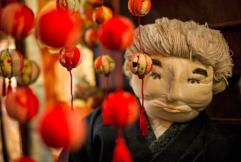 появился христианский японский поселок из кукол фото рейтер модели для отдыха