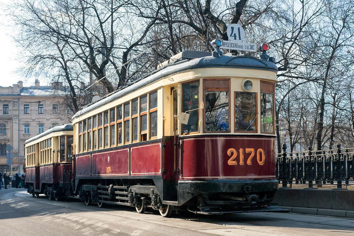 Картинки старинный трамвай
