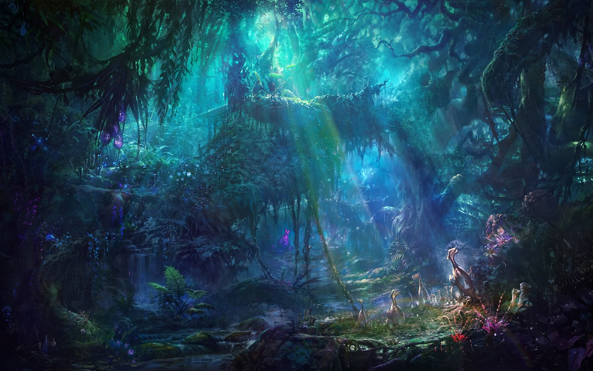 enchanted fairy forest - HD 1920×1200