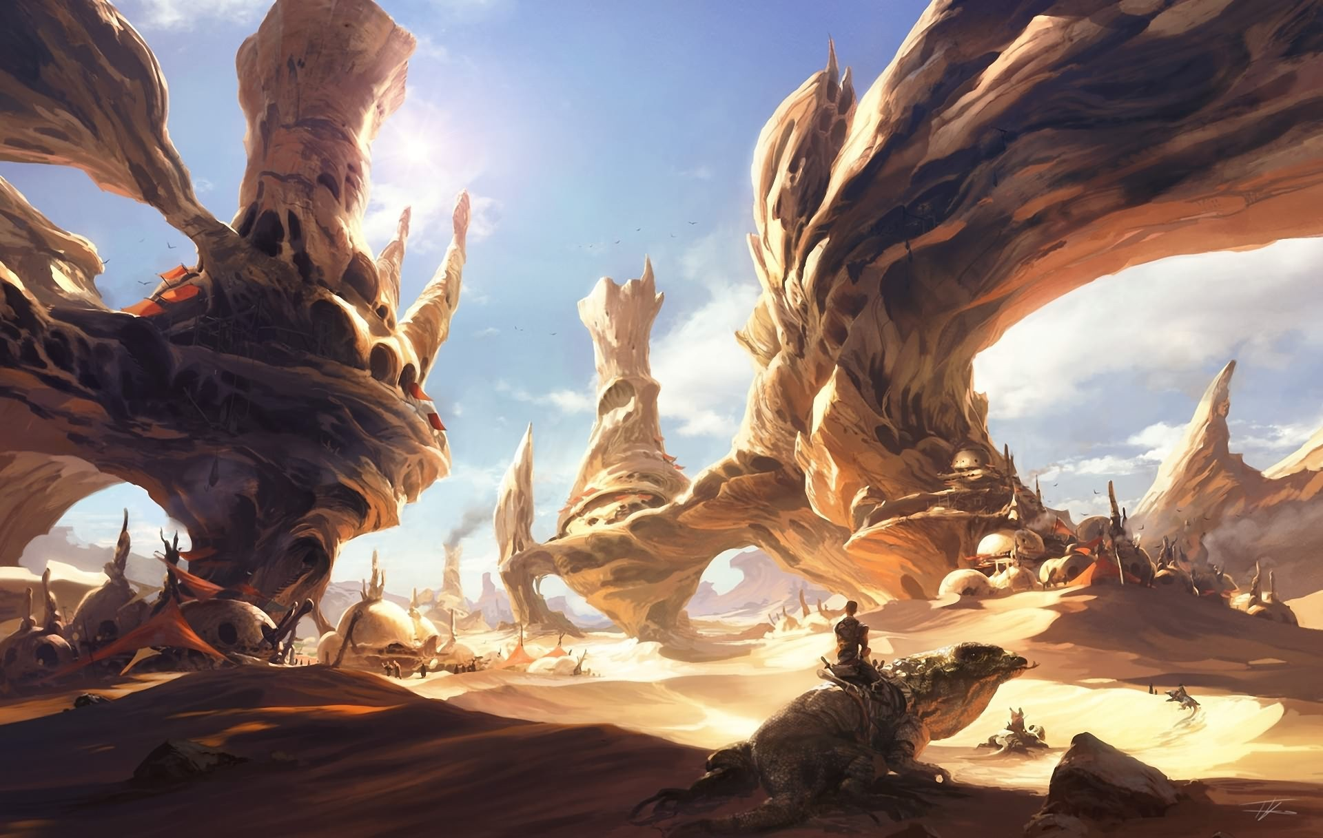 Картинки фантастические миры фантастика