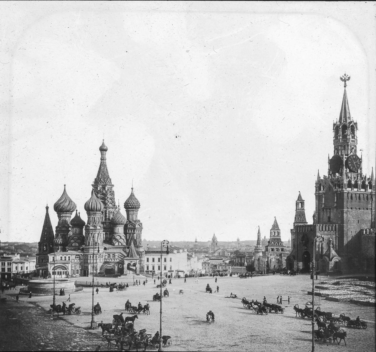 старинные фото московского кремля лучшие