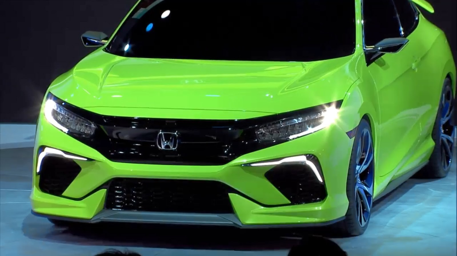 Honda показала концепт нового Civic Civic, honda, авто, концепт