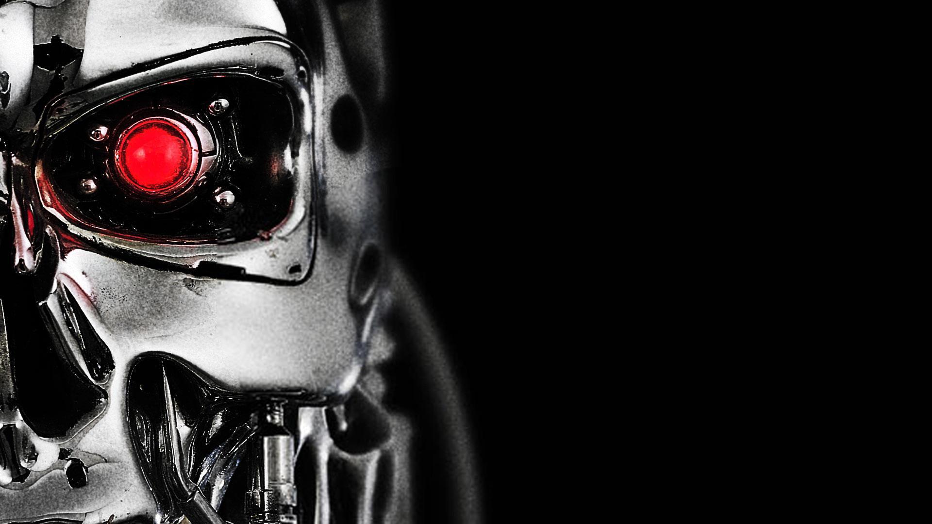 Робот в темноте в хорошем качестве