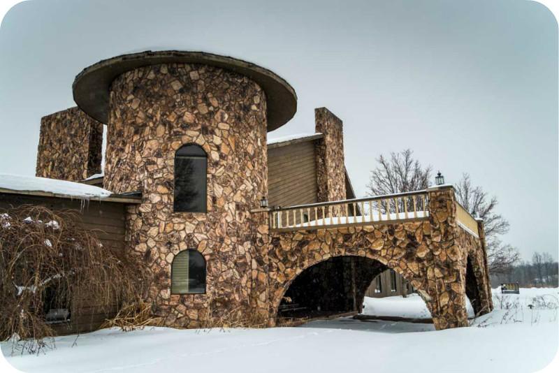 Заброшенный особняк Майка Тайсона с аляповатым интерьером Майк Тайсон, особняк
