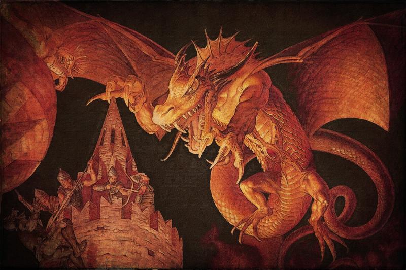28. «Огонь, вода и… медные трубы» драконы, мифология
