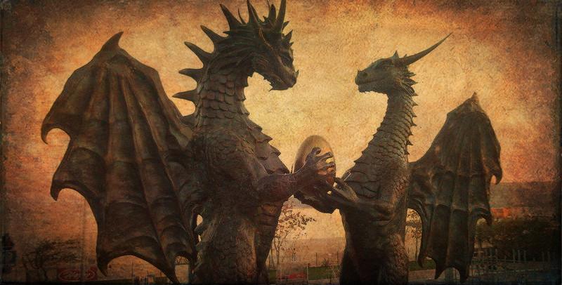 22. Архитектура и скульптура драконы, мифология