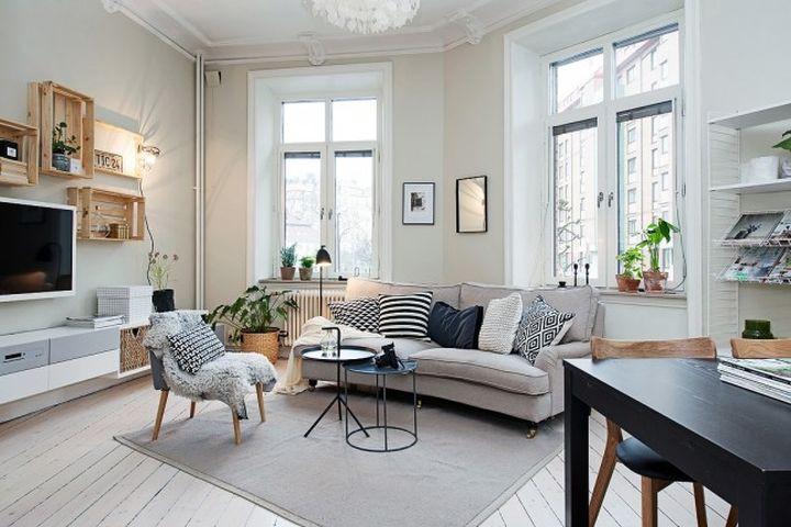Дизайн для малогабаритной квартиры в картинках 79