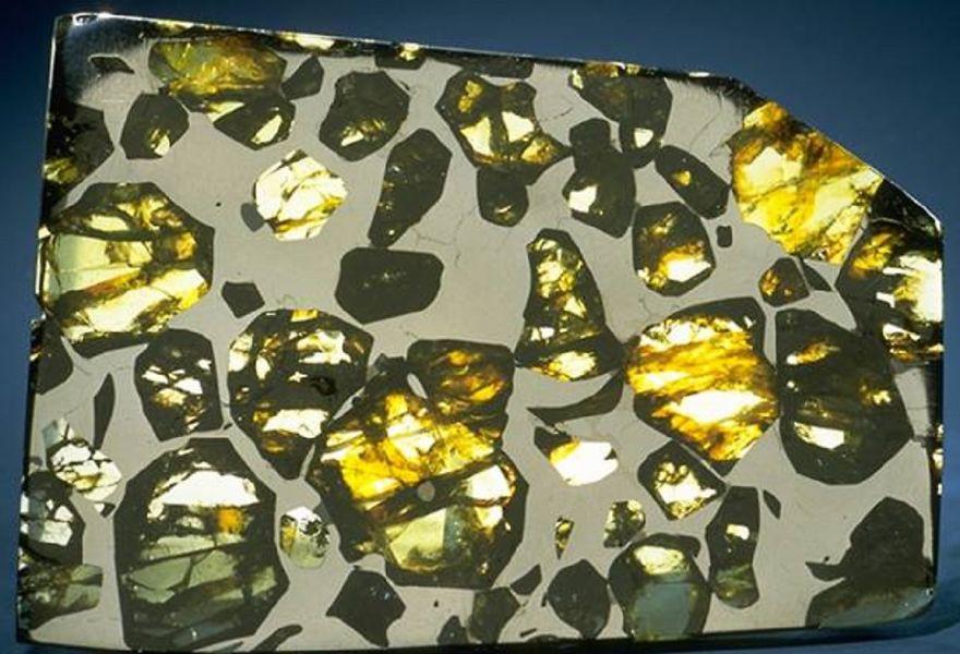 Палласит - 60 красивейших минералов и камней