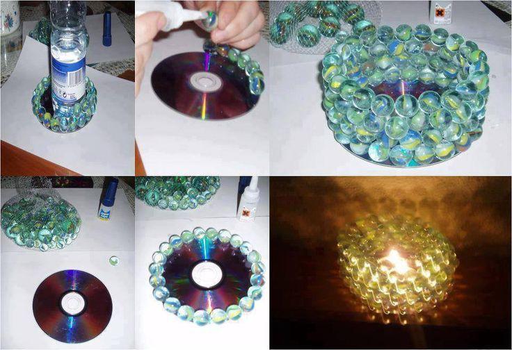 Подарки из дисков своими руками