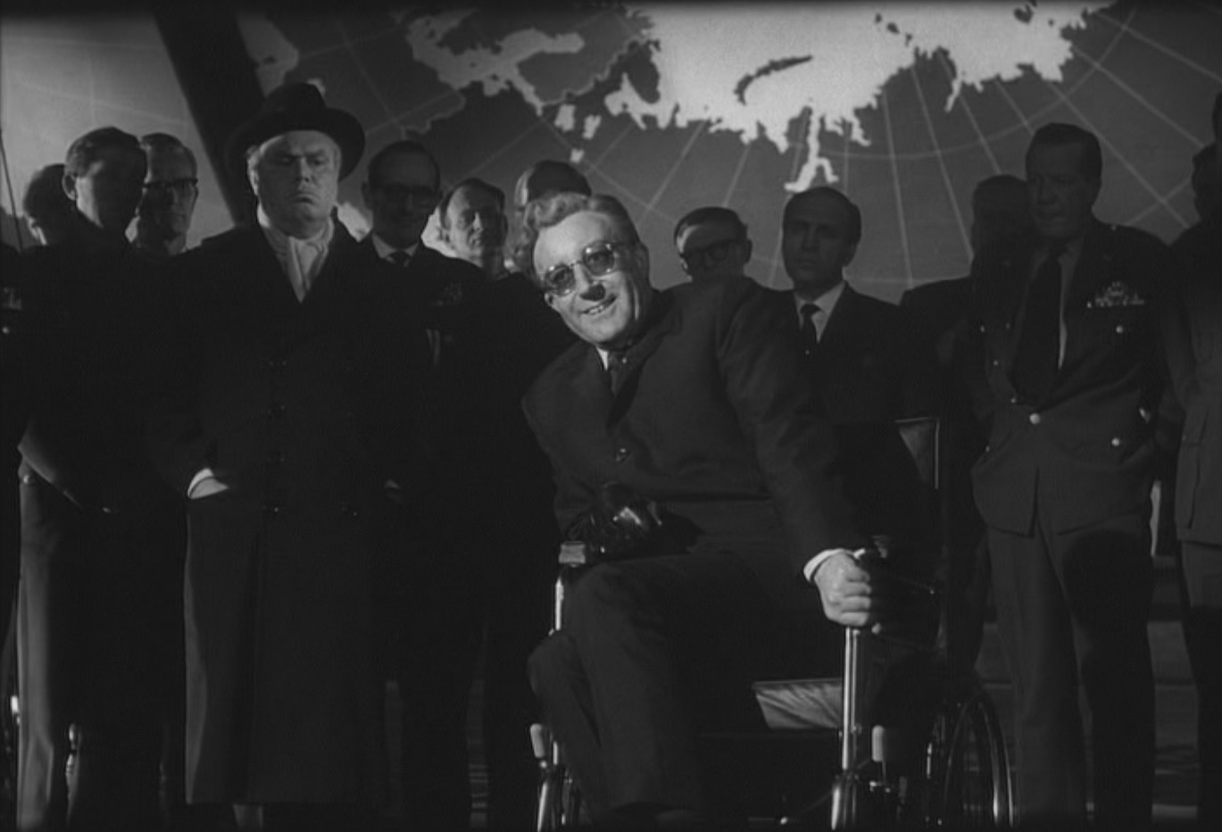 the problem of going crazy and using technology against society in dr strangelove a film by stanley  I knew of stanley kubrick—i'd seen dr strangelove and 2001  but because this was the first film using dolby technology no problems), stanley became.