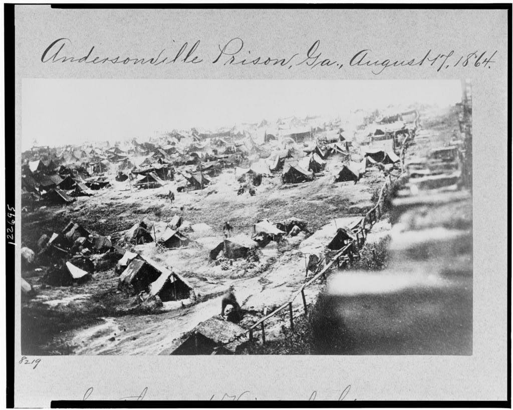 the history of the prisoners of andersonville