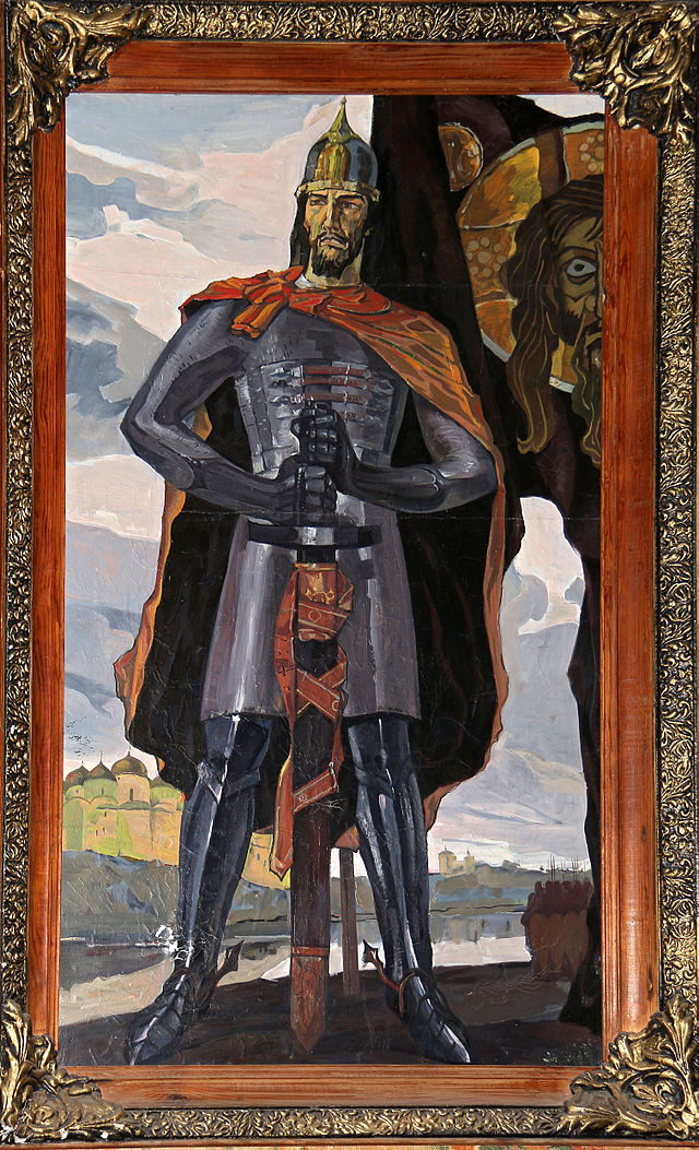 Александр невский своими руками 313