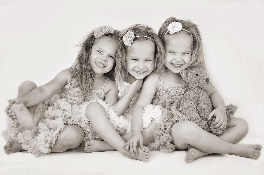 Картинки три красивые девочки