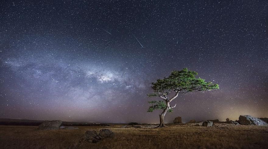 Джелонг, Австралия астрономия, день, звезды, небо