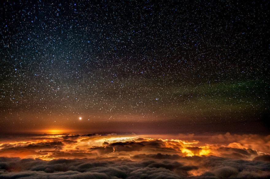 45 потрясающих фотографий звездного неба астрономия, день, звезды, небо