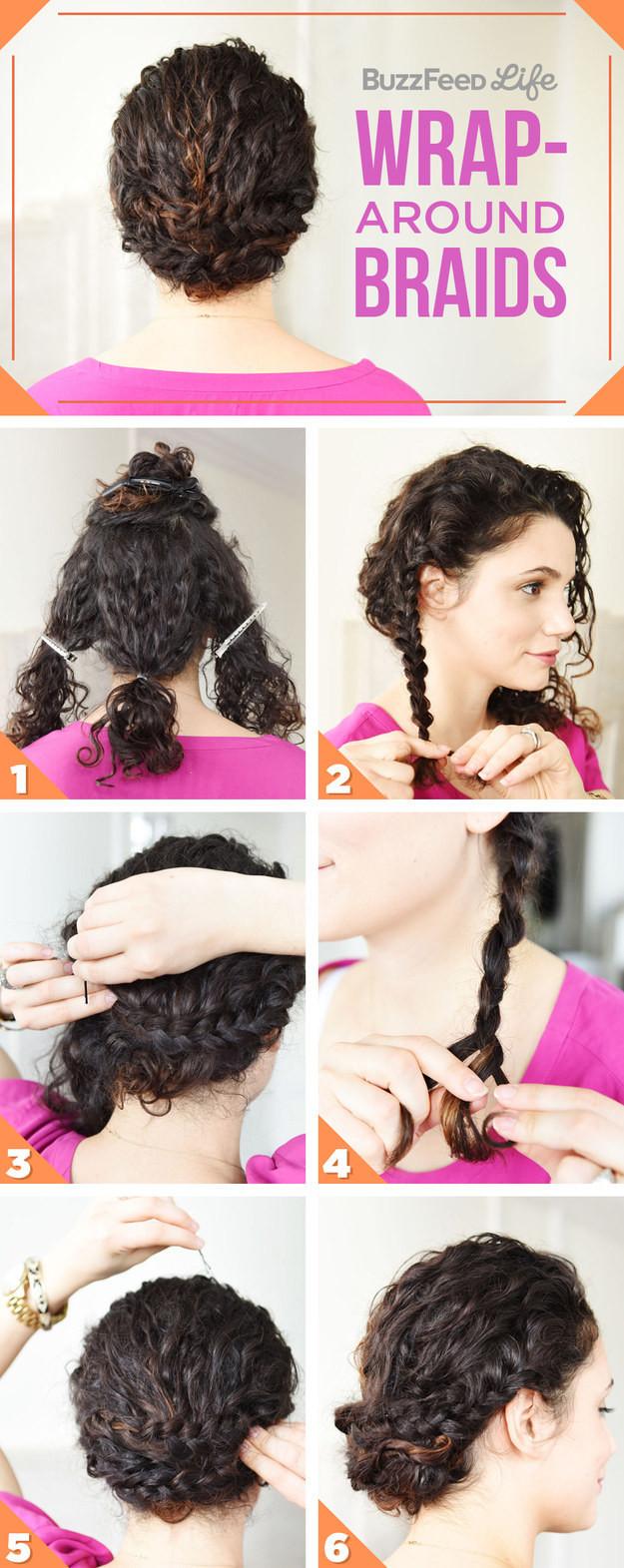 Как сделать волосы кудрявыми прически 644