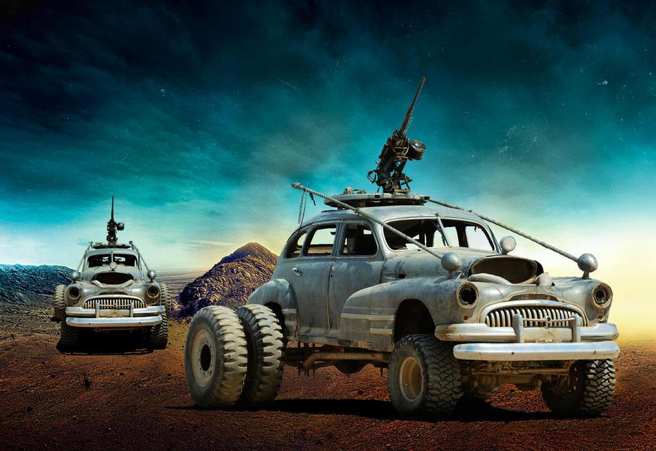 Buick Безумный Макс, авто, кино, кинотачки