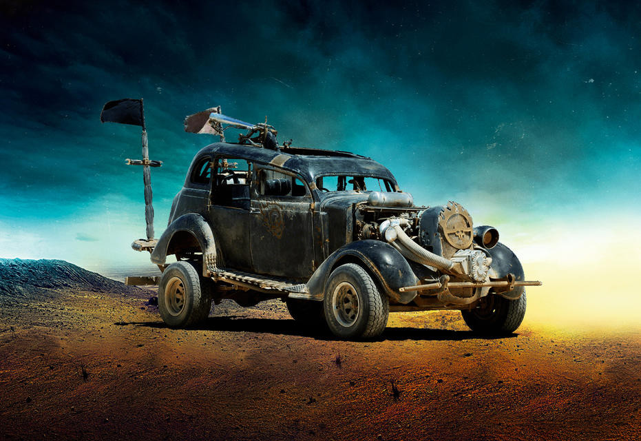 Dodge Безумный Макс, авто, кино, кинотачки