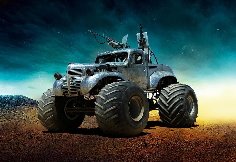 The Big Foot Безумный Макс, авто, кино, кинотачки