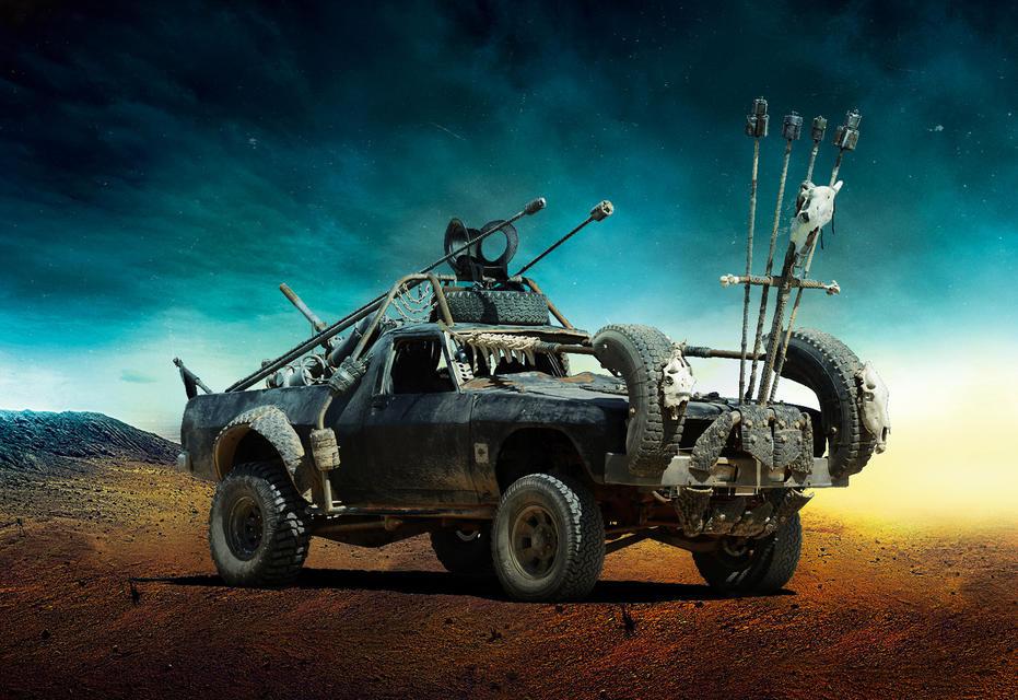 Firecar #4 Безумный Макс, авто, кино, кинотачки