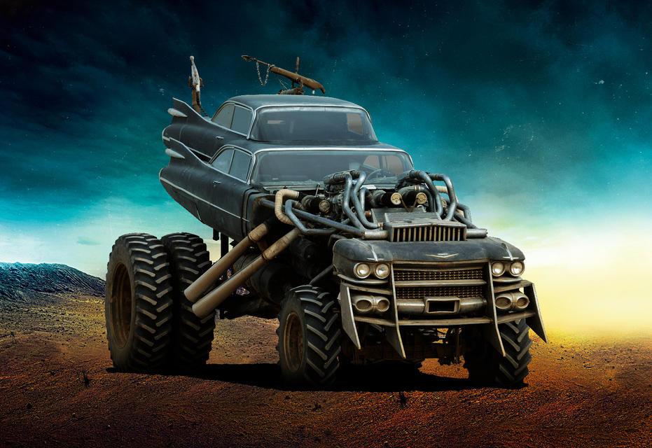 The Gigahorse Безумный Макс, авто, кино, кинотачки