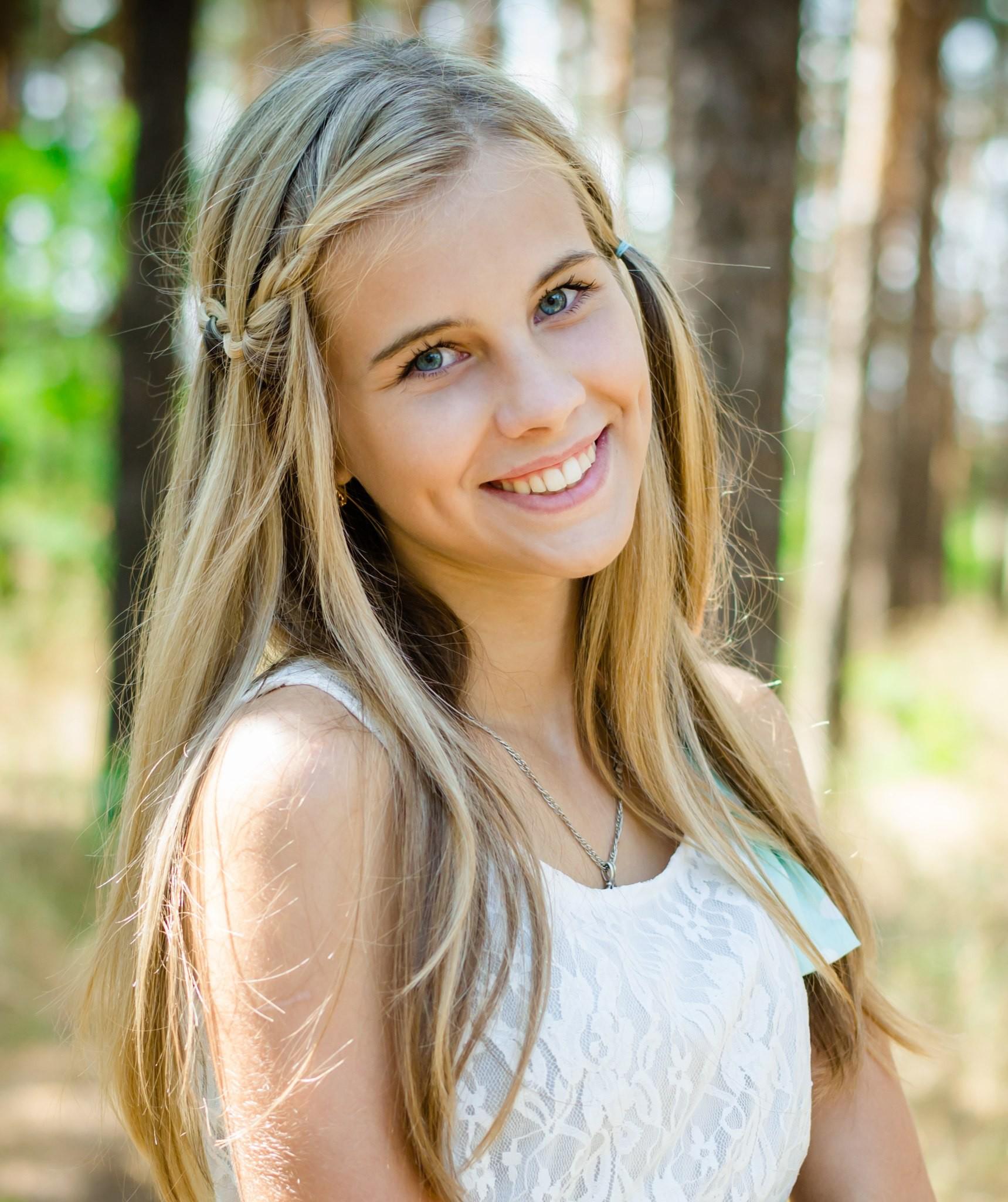 Картинки русых девушек с улыбкой