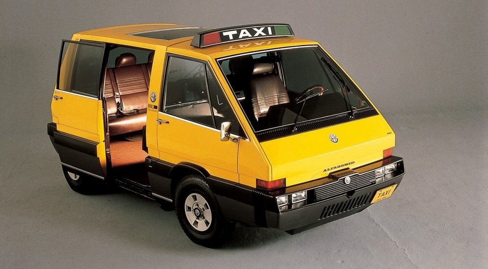 Alfa Romeo New York Taxi (1976) авто, автодизайн, концепт, прототип, такси