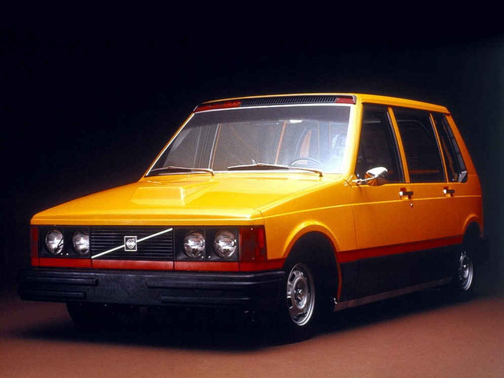 Volvo Experimental Taxi Vehicle (1976) авто, автодизайн, концепт, прототип, такси