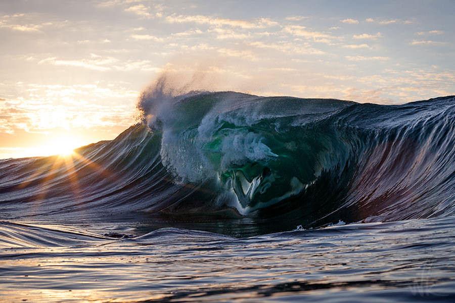 Удивительная красота моря волны фото