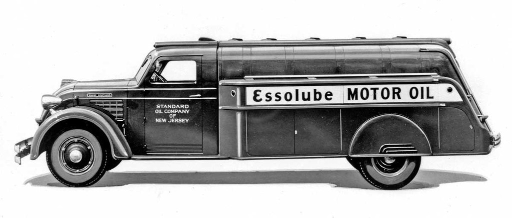 Dodge Airflow Special II Series '01.1935-12.1936 Airflow Tank Truck, dodge, авто, автоцистерна, цистерна