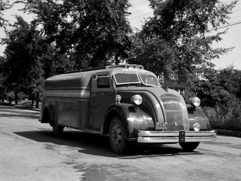 Dodge Airflow Special (K52) I Series '12.1934–01.1935 Airflow Tank Truck, dodge, авто, автоцистерна, цистерна