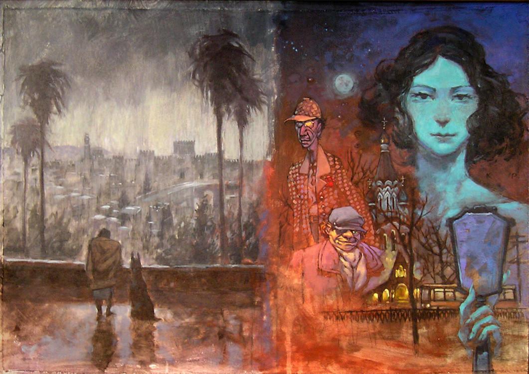 иллюстрации к произведениям булгакова работы