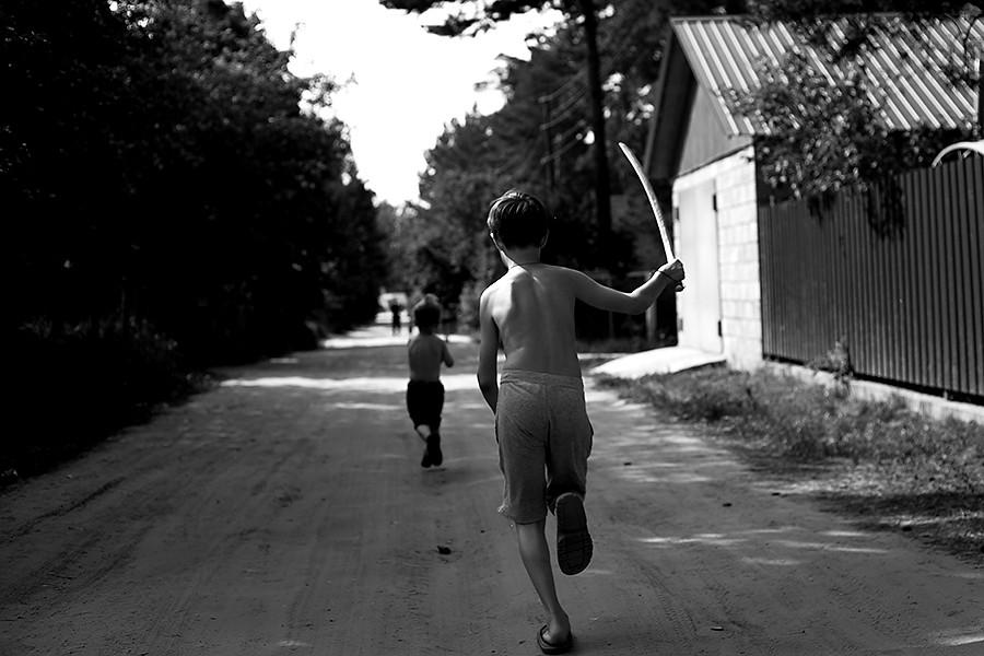 4.Казаки-разбойники  СССР, веселье, двор, дети, игры, любимых