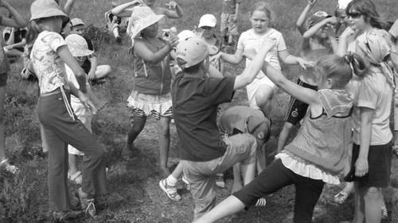13. Море волнуется раз .. СССР, веселье, двор, дети, игры, любимых