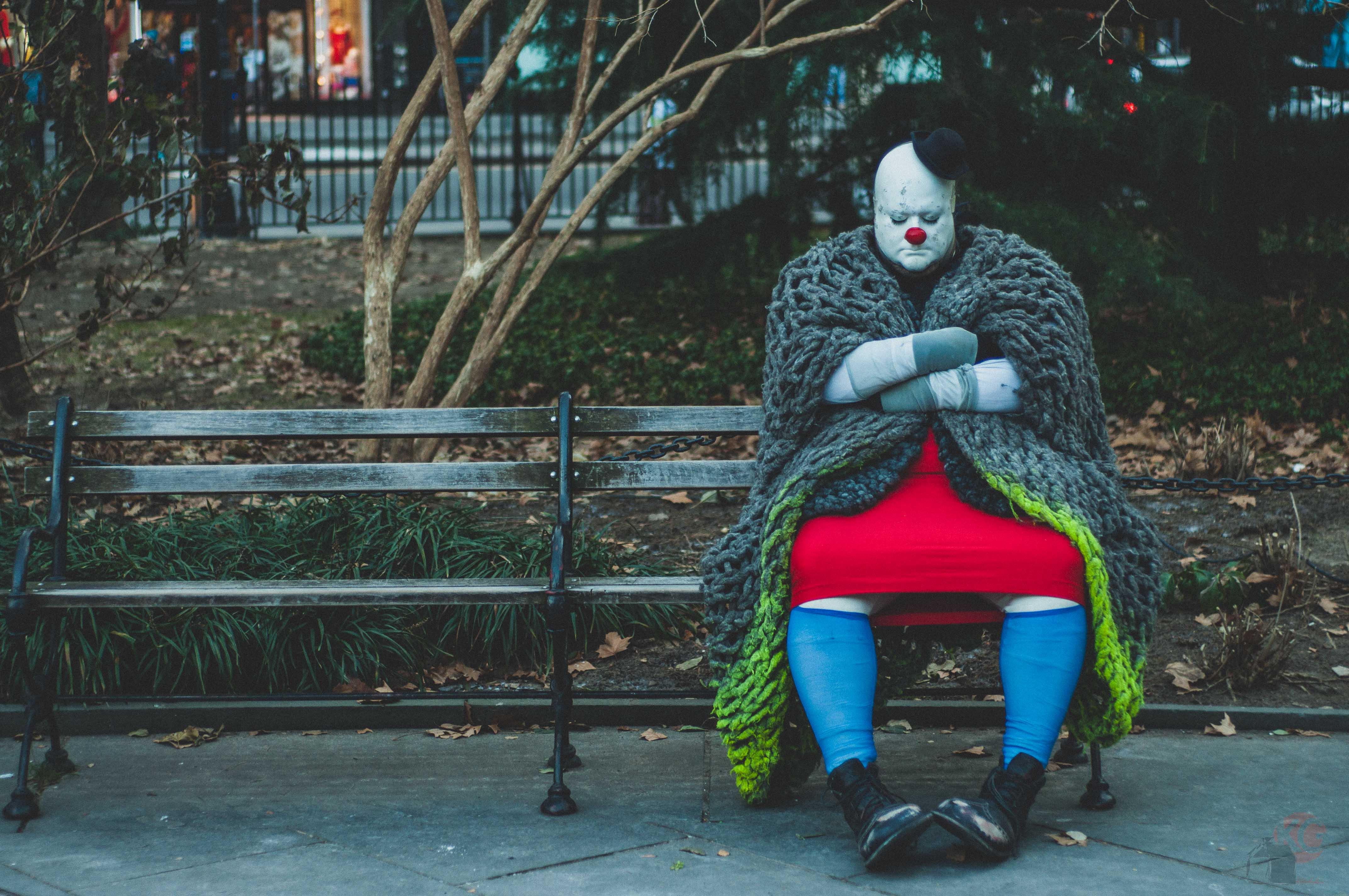 Фото грустных клоунов