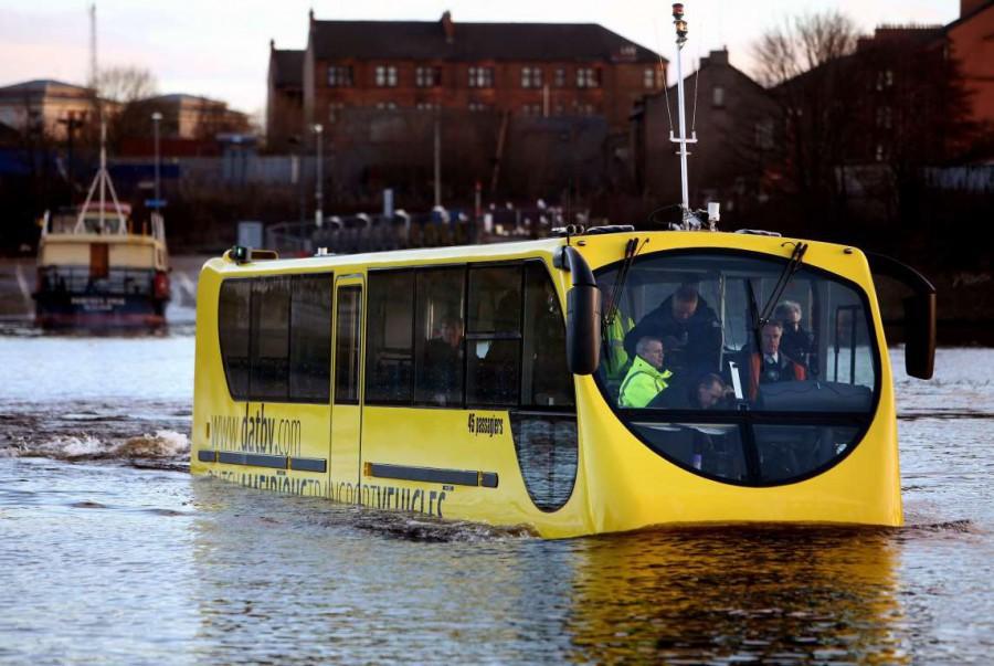 Самый необычный общественный транспорт