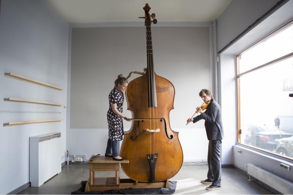 Открытка днем, виолончель прикольные картинки