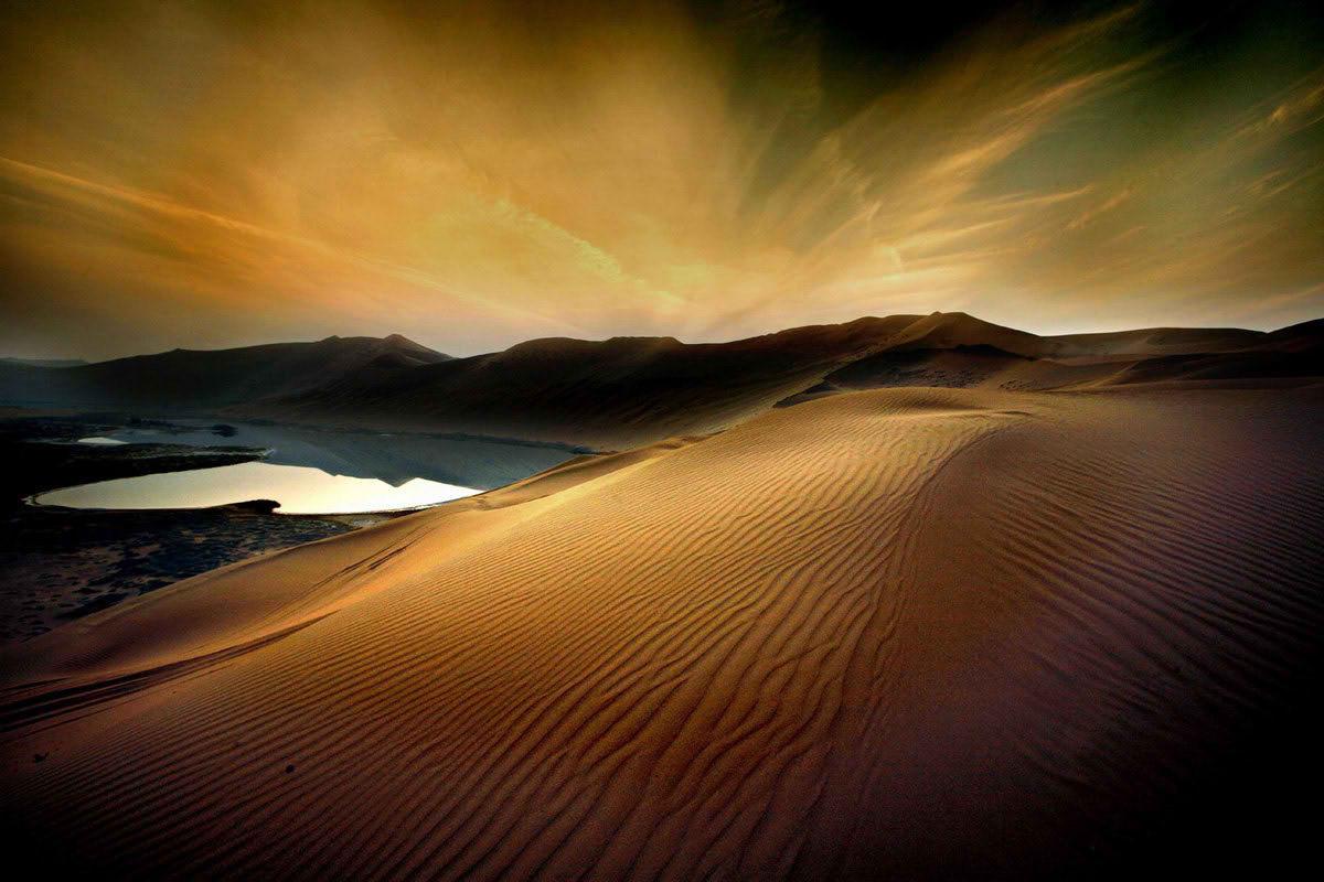 фото в пустыне очень яркие так еще интересней