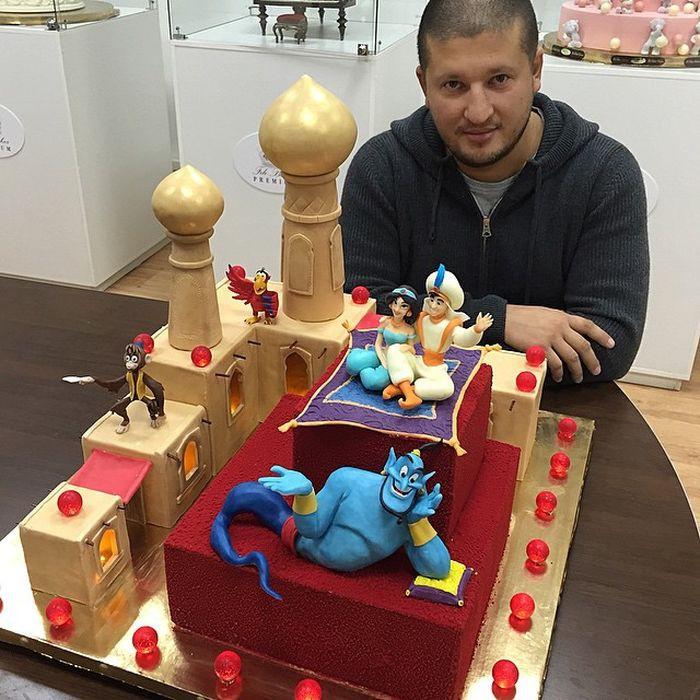 Сказочный торт «Алладин» еда, торт