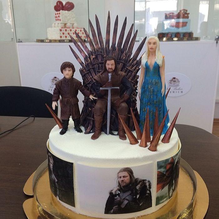 """Торт """"Игра престолов"""" еда, торт"""