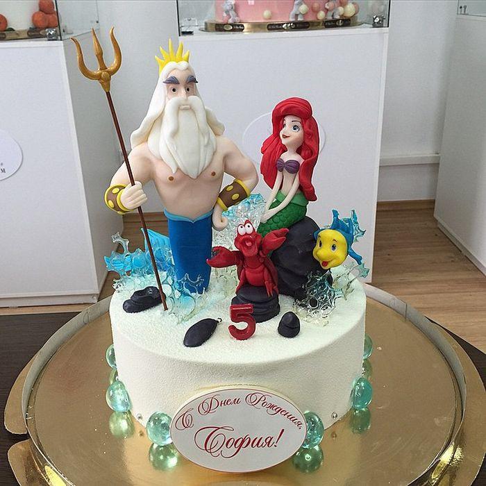 Один из самых популярных тортов для девочек! еда, торт