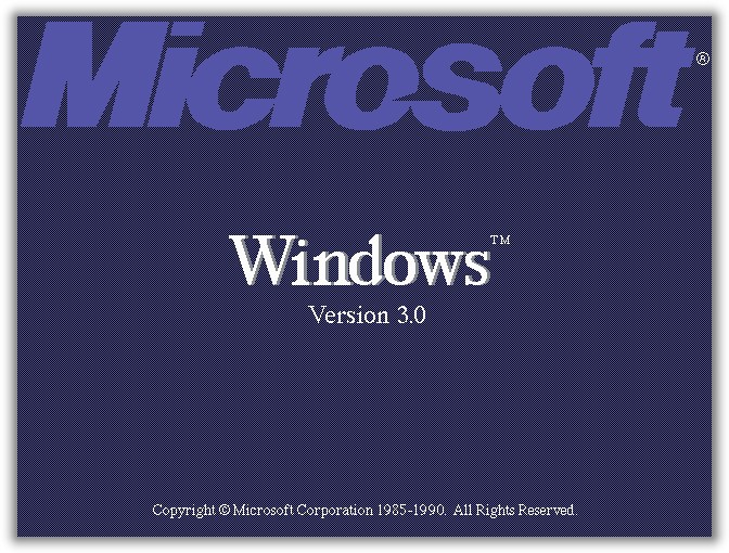 22 мая 1990 года, компания Microsoft представила Windows 3.0 windows, история