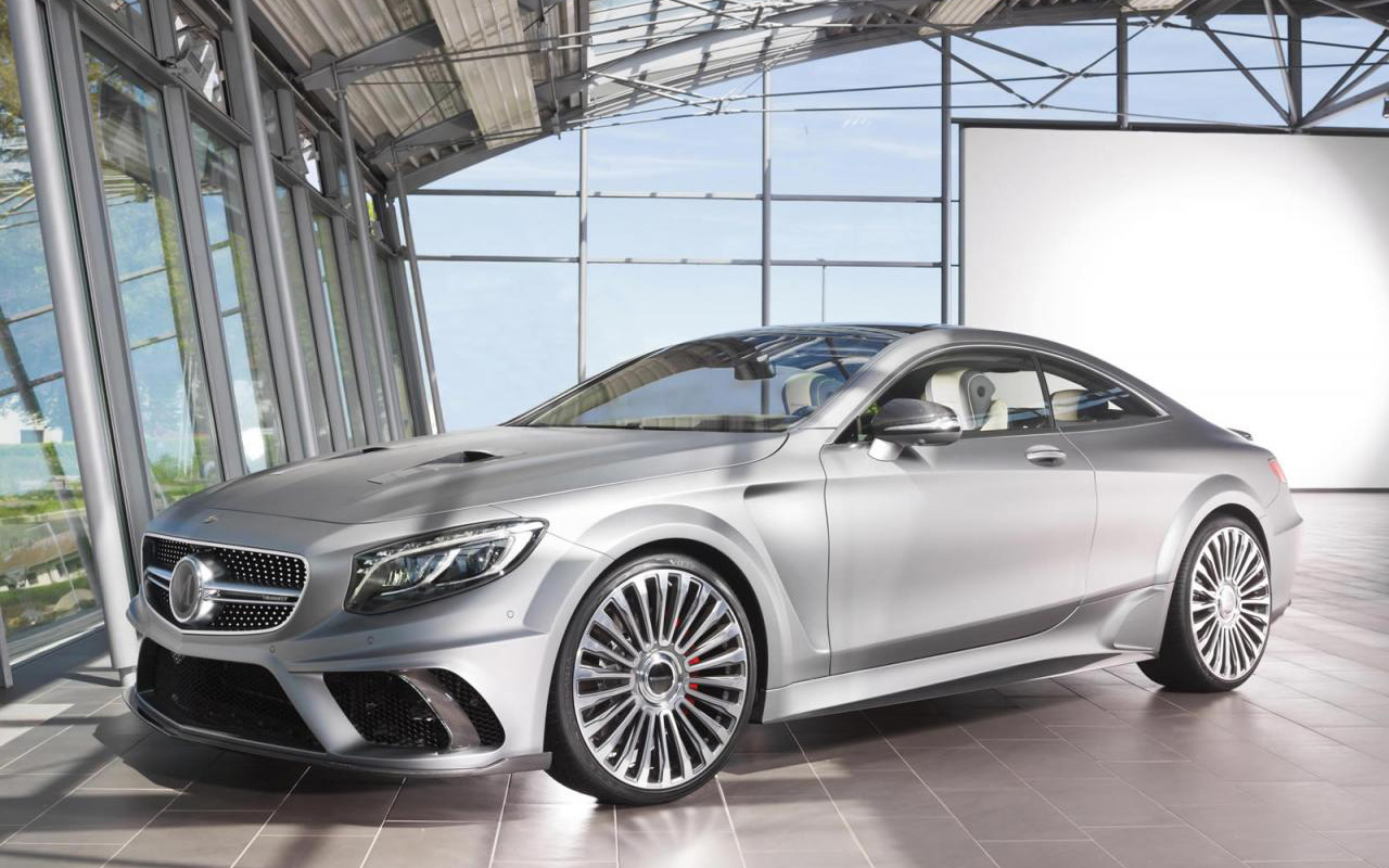 Самый мощный Mercedes-Benz S63 AMG Coupe от Mansory